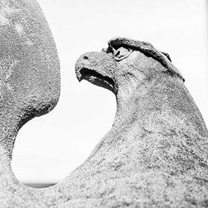 Stone Image of Eagle